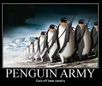 Penguin army