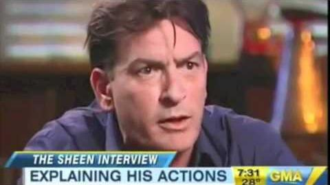 Charlie Sheen Interview Highlights Part 1