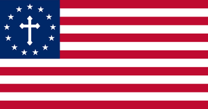 US 13 Star Betsy Ross Flag sv