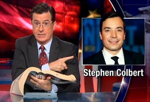 The real colbert