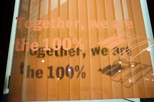 We are 100 %