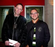 William Gibson and Cory Doctorow