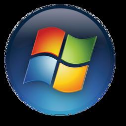 Windows logo - 2006 (blue circle)