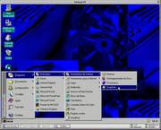Virtual PC 3 for Mac OS running Windows 95