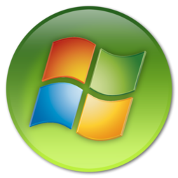 Windows logo - 2006 (green circle)