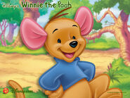 Pooh Wallpaper - Roo