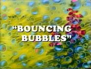 Bouncing Bubbles