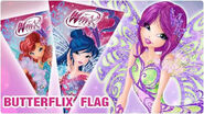 Winx Club - Art&Craft Butterflix flags!
