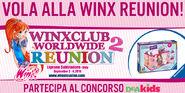 Volate alla Winx Reunion con DeAKids!