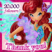 Winx Club - 20,000 followers April232016 (Instagram)
