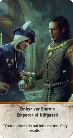 File:Tw3 gwent card face Emhyr var Emreis Emperor of Nilfgaard.png