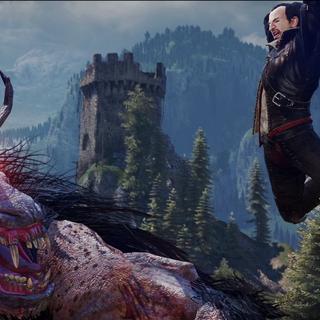 Lambert on very early screenshot killing fiend