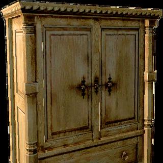 wardrobe, 2 doors, 1 drawer