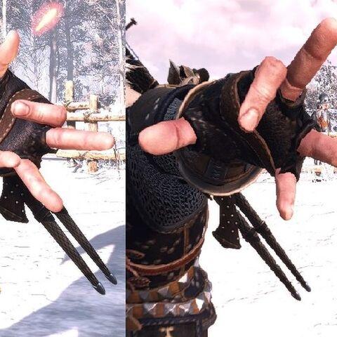 Igni's casting gesture.