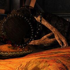 Iris on her deathbed