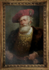 Decorative Painting old guy