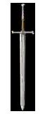 Witcher's steel blade