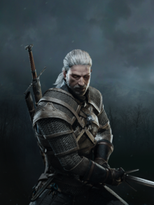 Geralt in The Witcher 3