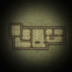 Map of the lower floor.