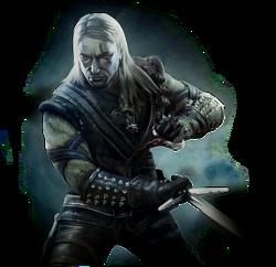 """Geralt w pierwszej części gry """"Wiedźmin"""""""