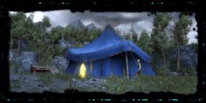 Places Camp Outside Kaer Morhen