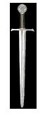 Espada de acero temerio