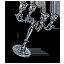 Tw3 silver candelabrum