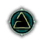 Game Icon Aard symbol unlit.png