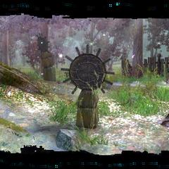 strange druidic obelisk