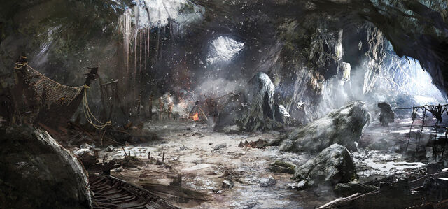File:The witcher 3 wild hunt trolls cave by scratcherpen.jpg