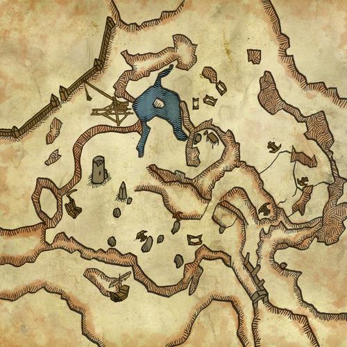 Mappa del campo di battaglia