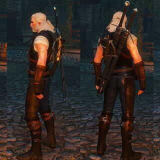 Full view of the Feline armor set