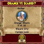 Q WC Orange Ye Scared 1