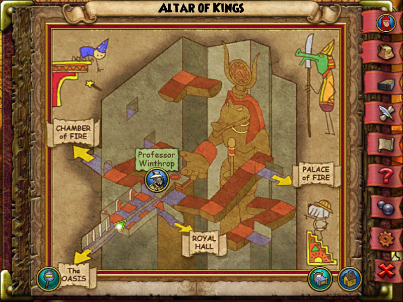 Altar of Kings Map