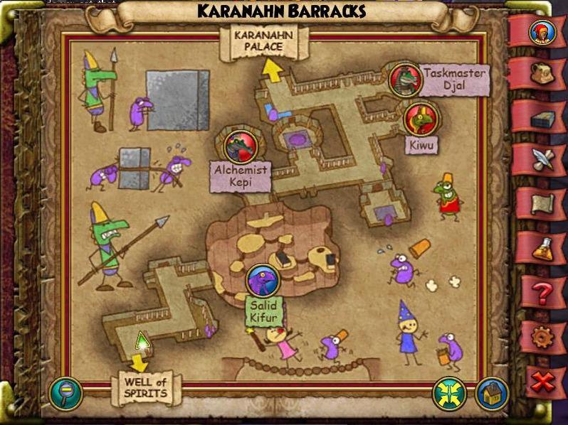 Map KT Karanahn Barracks