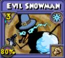 Evil Snowman Item Card