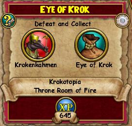 Eye Of Krok