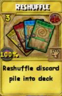 Reshuffle Treasure Card