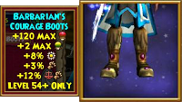 Boots Barbarian's Courage Boots Male