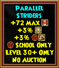 Boots - Parallel Striders