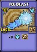 Ice Blast Item Card