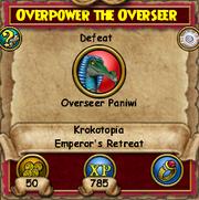 Overpower the Overseer