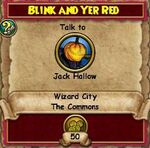 Q WC Blink and Yer Red 2