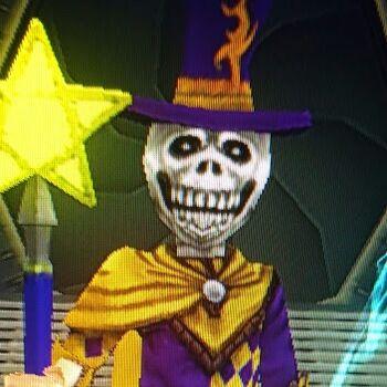 Connor Dragondust during Wizard101's 2013 Halloween