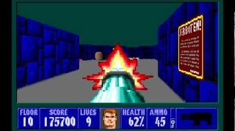 Spear of Destiny (id Software) (1992) Floor 10 - Boss Barnacle Wilhelm HD