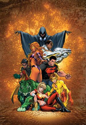 Teen Titans Kids Game