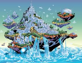 Themyscira floating