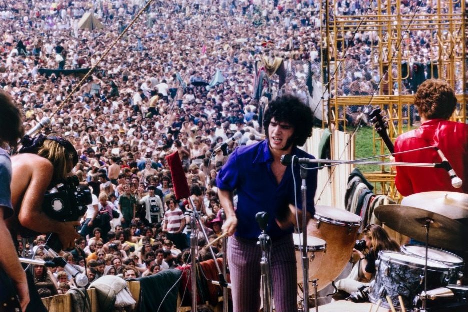 Latest Cb Santana Woodstock Stage Photos