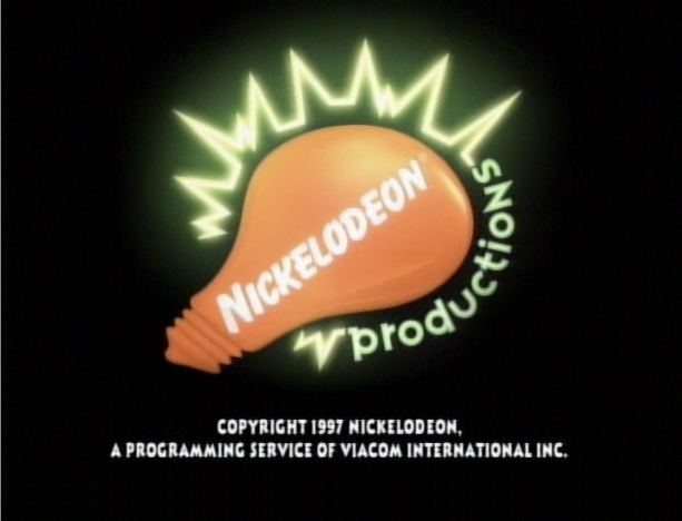 Nickelodeon Productions Logo Nickelodeon Productions 1997