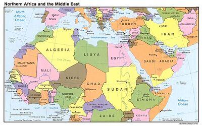 N africa mid east pol 95